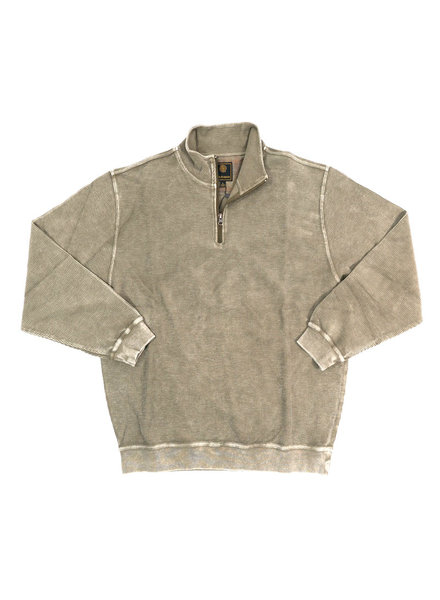 F/X Fusion F/X Fusion 1/4 Zip Taupe Enzyme Wash