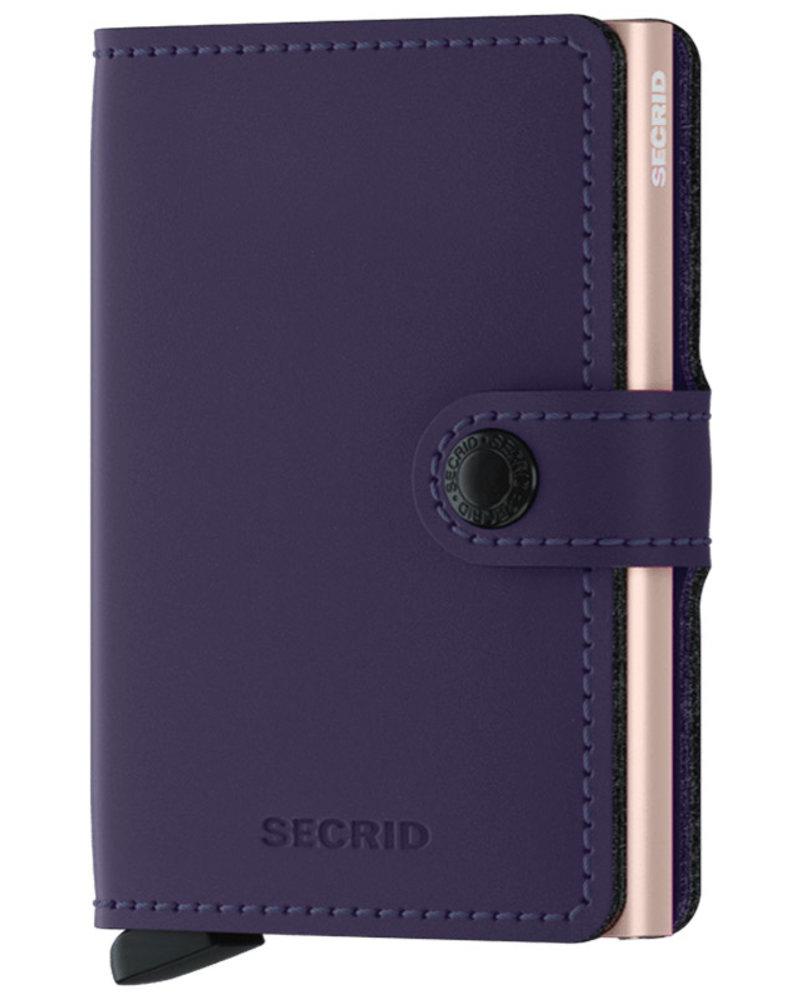 Secrid Secrid Matte Purple & Rose Mini Wallet