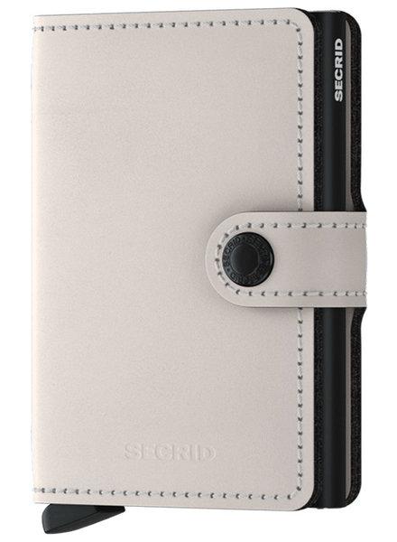 Secrid Secrid Matte Chalk Mini Wallet