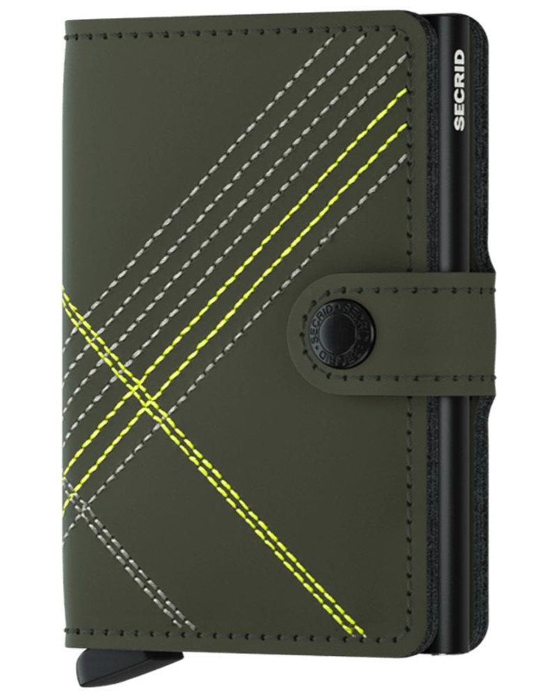 Secrid Secrid Linea Lime Mini Wallet
