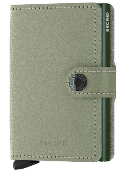 Secrid Secrid Crispie Pistachio Mini Wallet