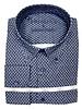 Luchiano Visconti Hensley's LV LS Brown Paisley Shirt