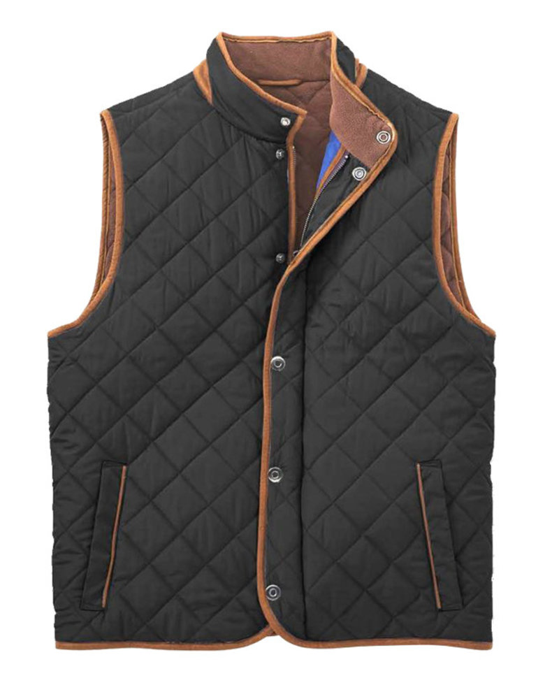F/X Fusion F/X Fusion Quilted Field Vest-Black