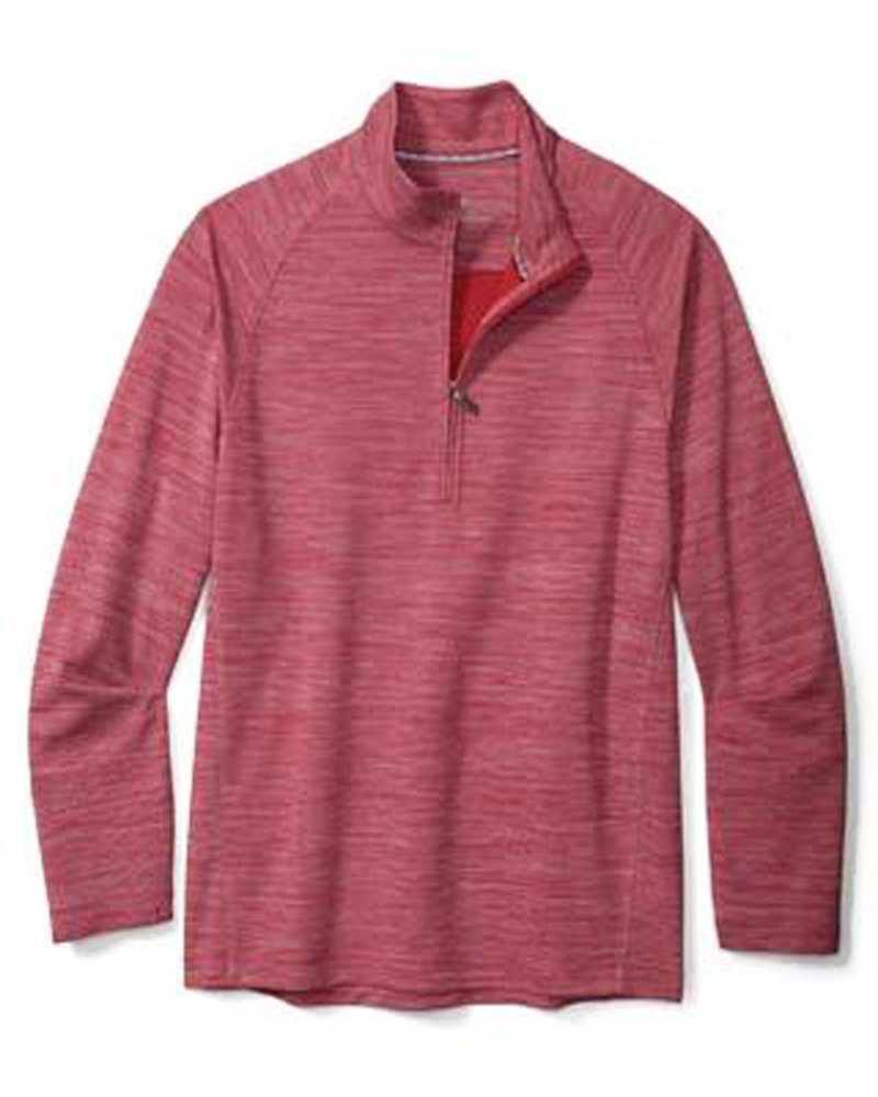 Tommy Bahama Tommy Bahama Play Action 1/2 Zip-Chili Pepper