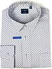 Leo Chevalier Leo Chevalier LS NI White Square Grid Shirt