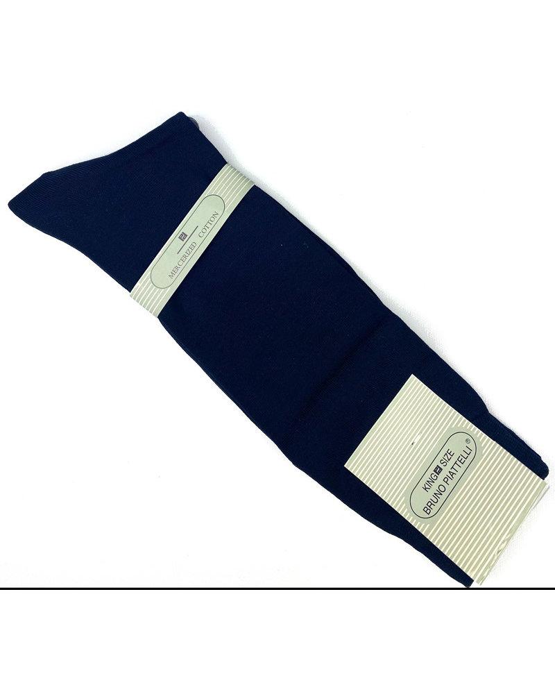 Bruno Piatelli Solid Navy Sock
