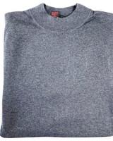 Tulliano Tulliano Smoke Mock Neck Pullover