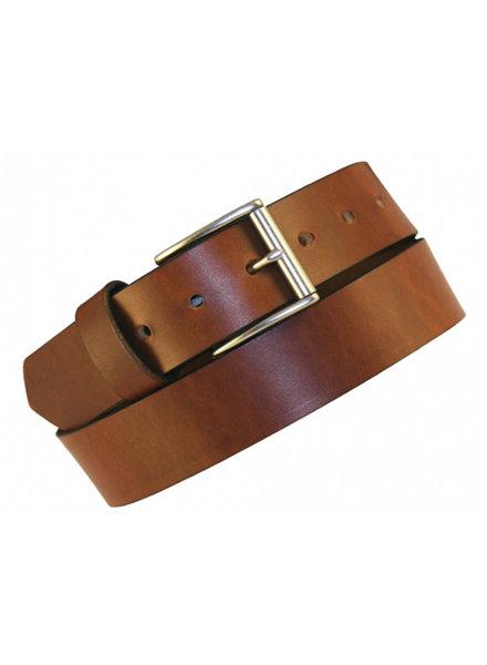 Boston Leather Boston Leather 11/2 Oil Tan Latigo Lthr Belt
