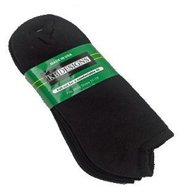Extra Wide No Show Socks 3 Pack 11-16