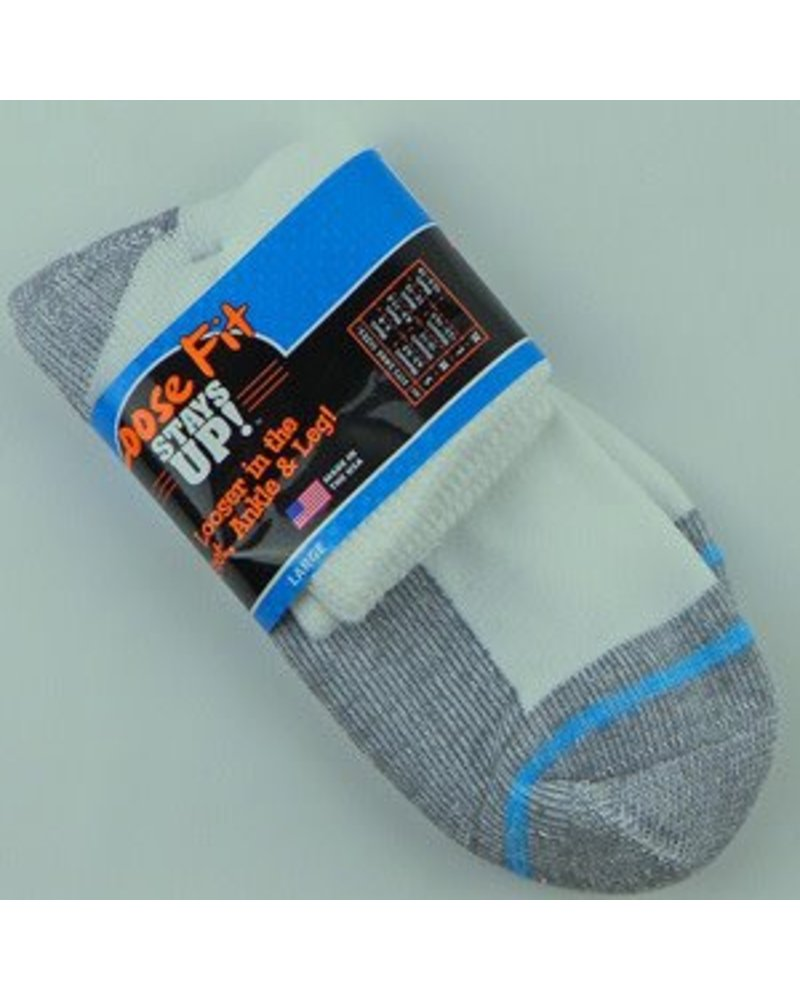 Extra Wide Sock Extra Wide Anklet Loose Fit/Stays Up 12-15