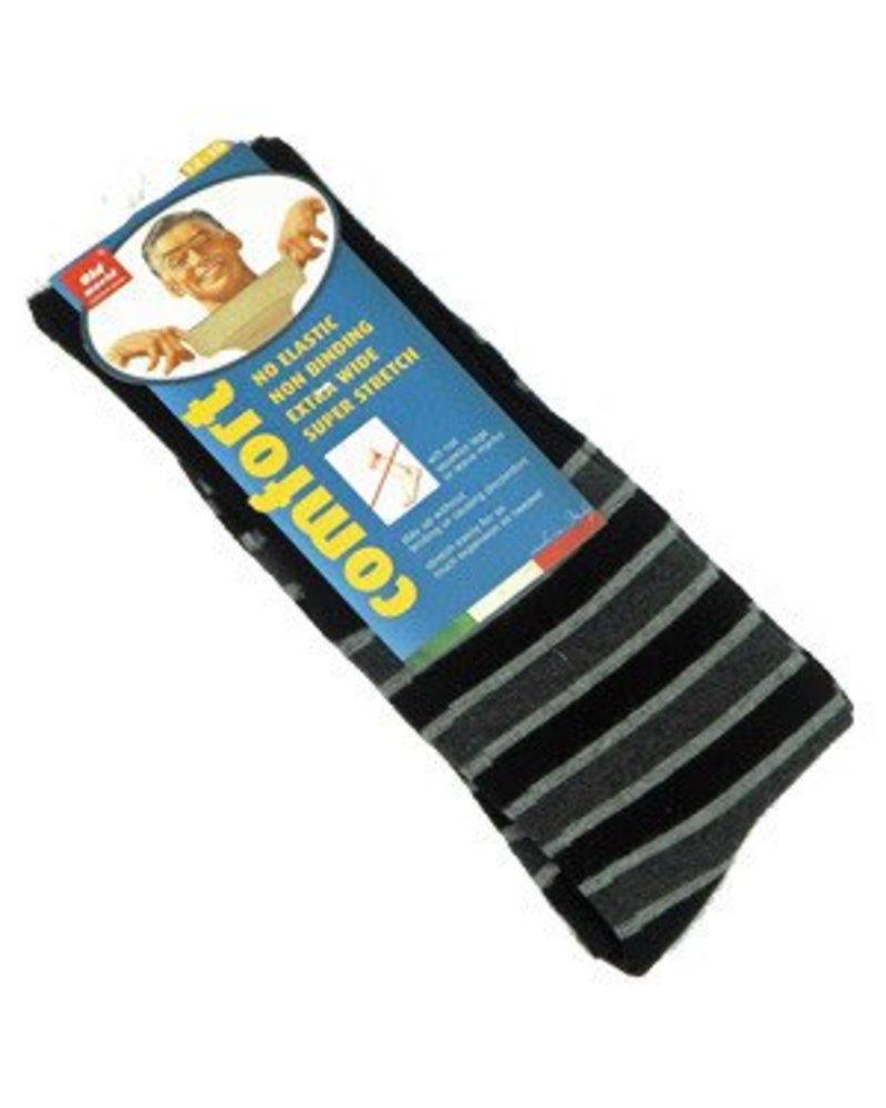Venetex Venetex 3-1 King-Size Stripe Socks