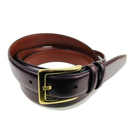 Torino Leather Burgandy Antiqua Belts w/Brass