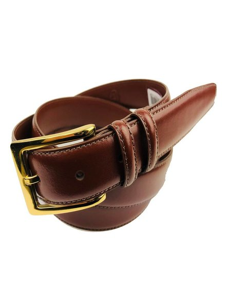 Torino Leather Torino Leather Aniline Brown Belt