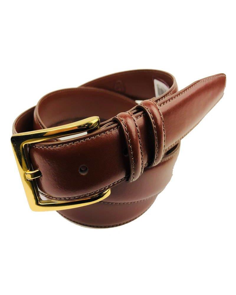 Torino Leather Torino Leather Aniline Brown Belt