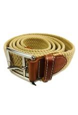 Mine Tan Stretch Web Belts