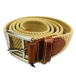 Mine Tan Stretch Web Belts