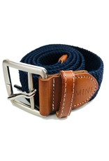 Mine Navy Stretch Web Belts