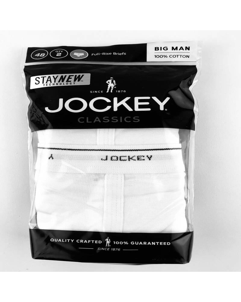 Jockey Jockey Big and Tall Classic Brief -2 Pack