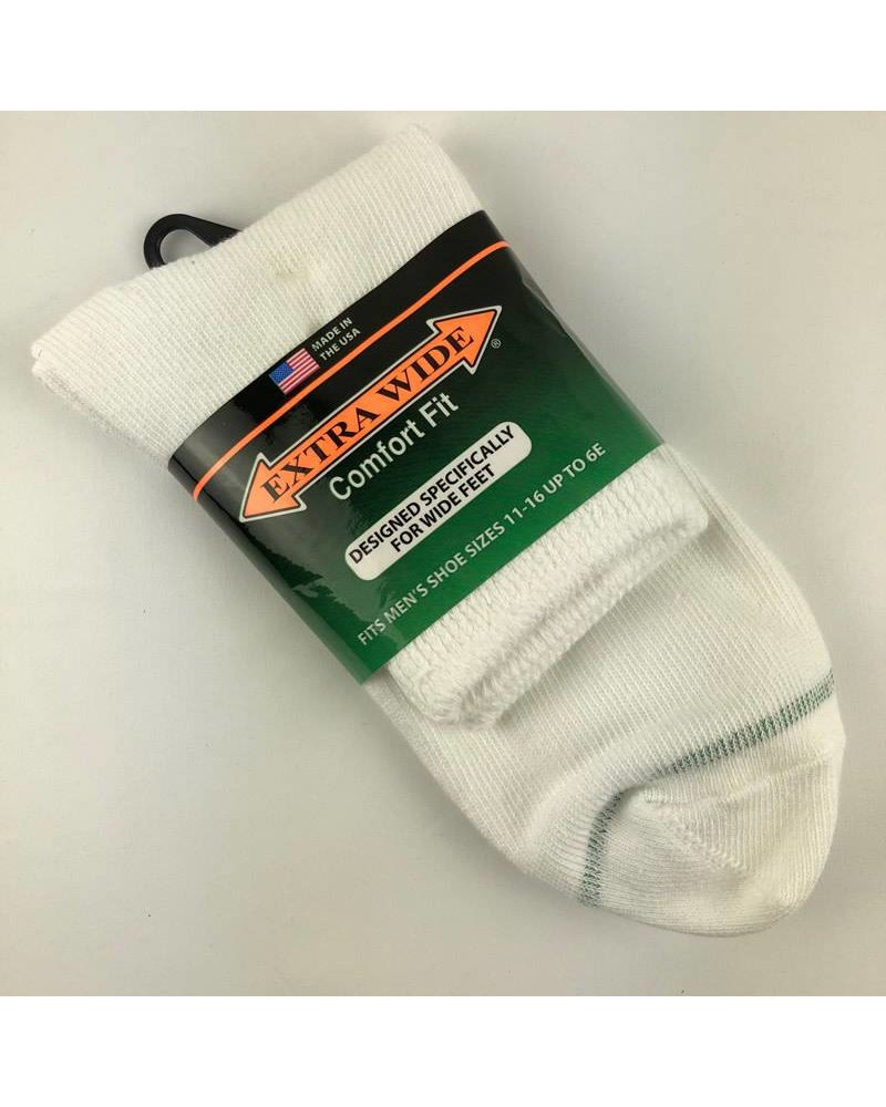 Extra Wide Sock Extra Wide Quarter Length Medical Socks