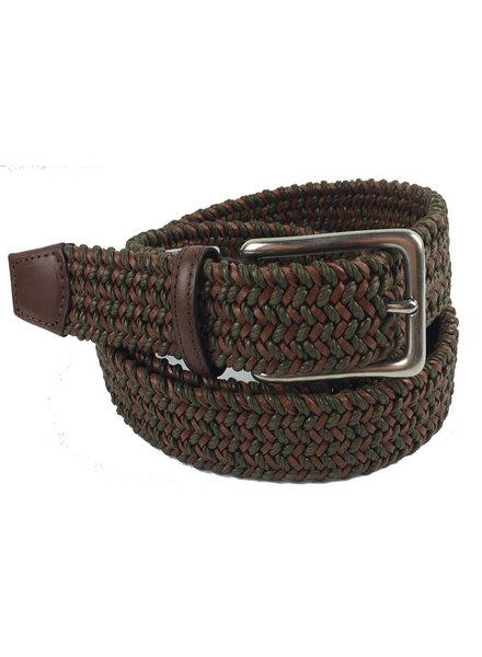 Torino Leather Torino Leather Mini Strand Braid Belt-O/C