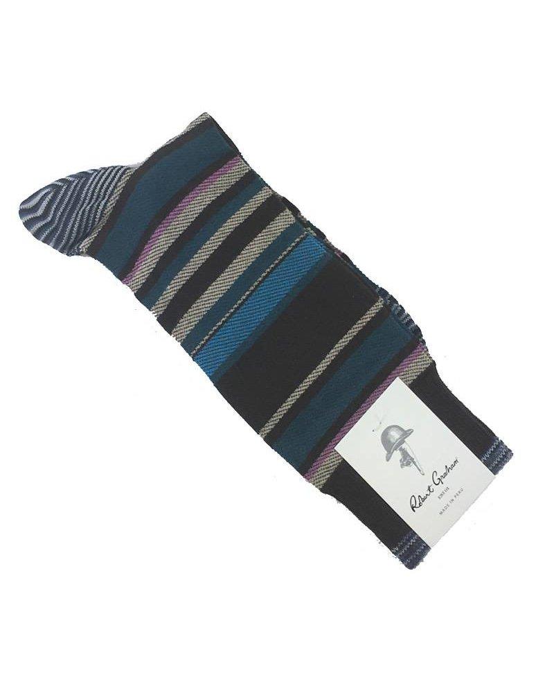 Robert Graham Robert Graham XL Bernera Socks