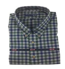 Hensley's Hensley's LS Brushed Cotton Hunter Check