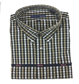 Hensley Hensley's LS Brushed Cotton Black Check