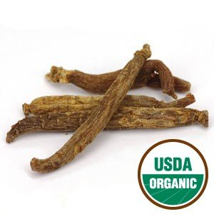 Ginseng, Chinese Red  organic whole rt. 1 oz