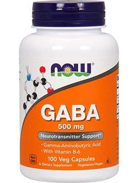 GABA 500 mg 100 vegcaps