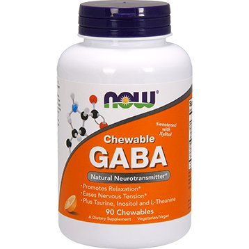 GABA 90 chewables 250 mg