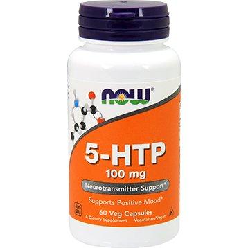 Source Naturals 5-HTP NOW Foods - 100 mg - 120 caps
