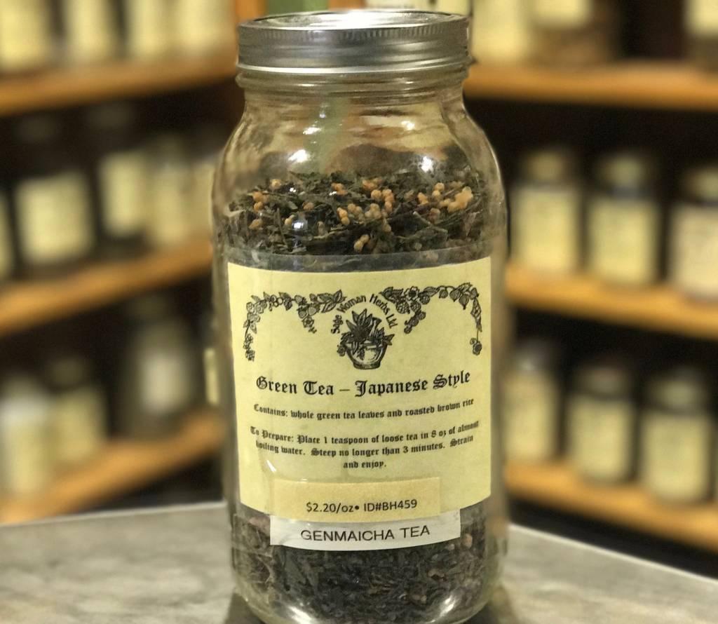 Genmaicha Green Tea Bulk
