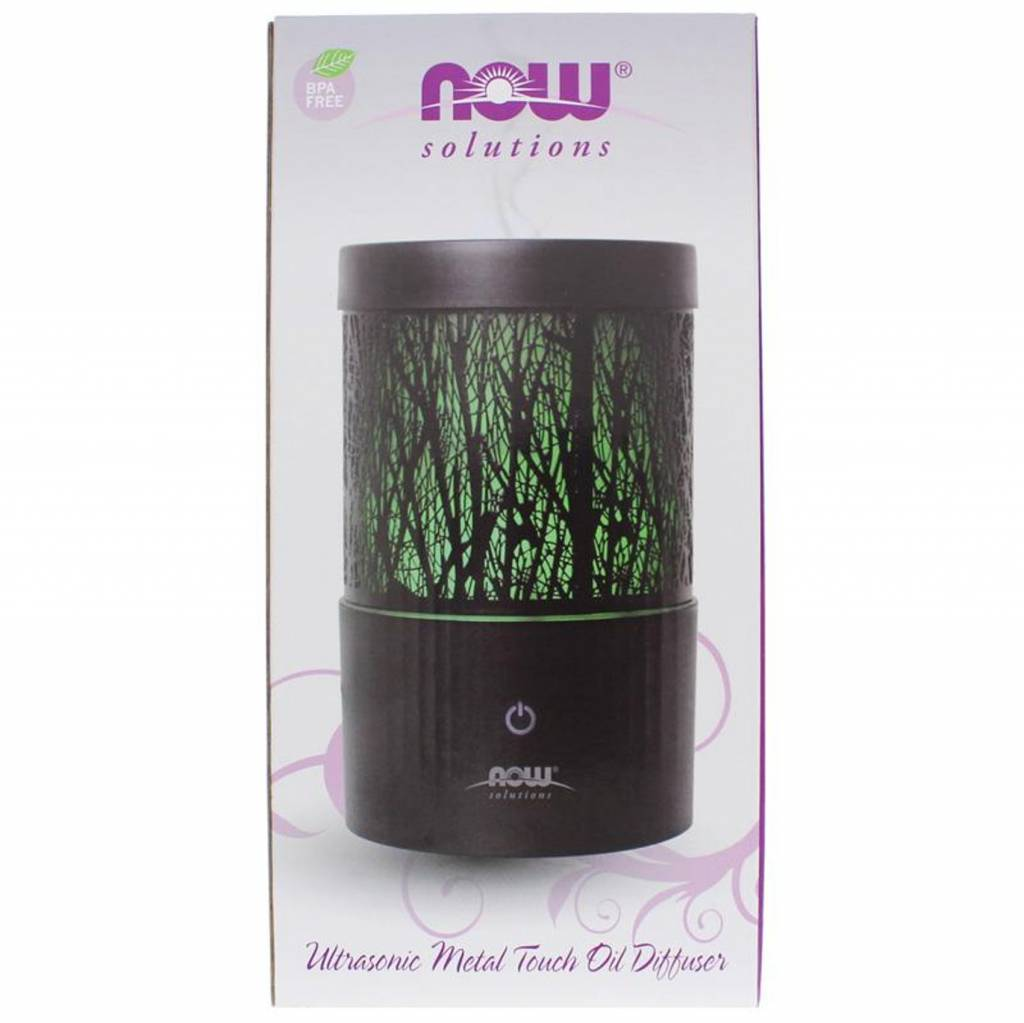 Now Foods Ultrasonic Metal Touch Diffuser
