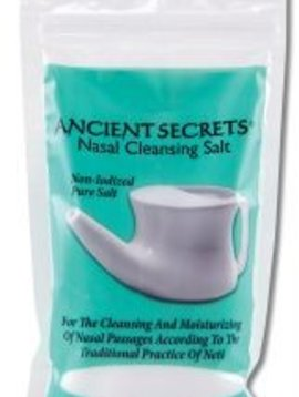 Lotus Brands, Inc. Ancient Secrets Nasal Cleansing Salt 8 oz