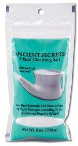 Lotus Brands, Inc. Ancient Secrets Nasal Cleansing Salt 8 oz