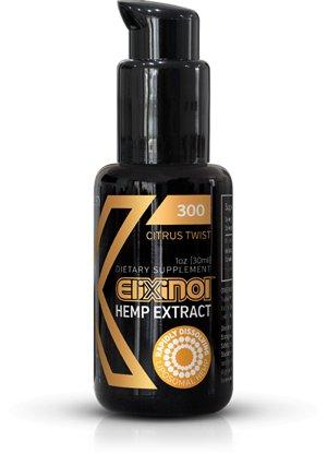 CBD Oil Liposomes  (Elixinol) 300mg – Citrus Twist 1 oz