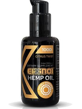CBD Oil Liposomes (Elixinol) 1000mg – Citrus Twist 3.5  oz