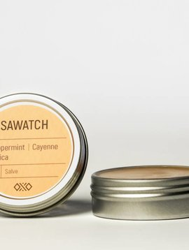 LOWER PRICE! Hemp Salve (Sawatch) Arnica / Cayenne / mint 1 oz
