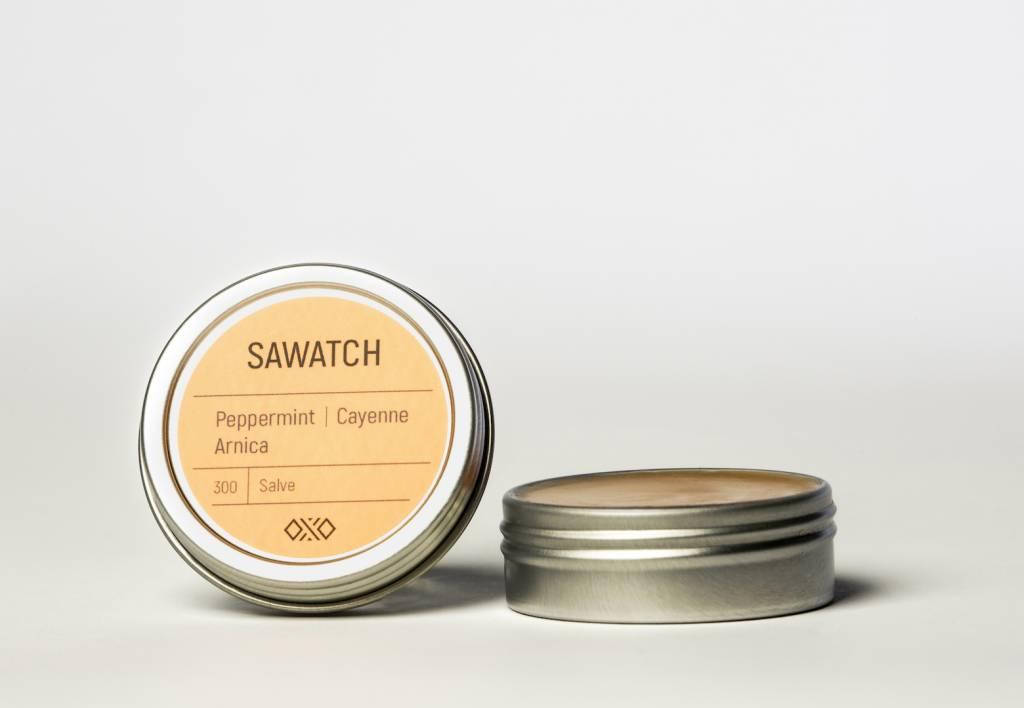 Hemp Salve (Sawatch) Arnica / Cayenne / mint 1 oz
