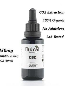 Hemp Oil (Nu Leaf) 1450 mg - 30 ml bottle