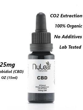 CBD Oil (Nu Leaf) 725 mg - 15 ml bottle