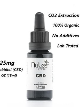Hemp Oil (Nu Leaf) 725 mg - 15 ml bottle