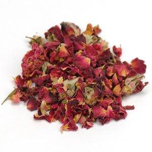 Red Rosebuds & Petals Bulk
