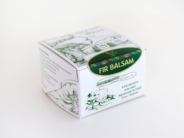 Incense Fir Balsam box 40 count