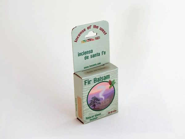 Incense Fir Balsam Box 20 count
