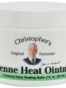 Dr. Christopher's Cayenne Heat Ointment - 2 oz