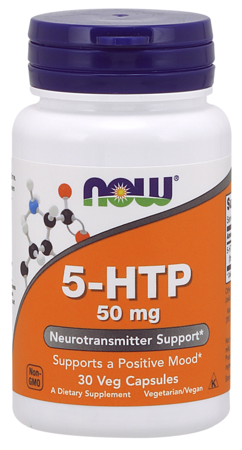Source Naturals Amino 5-HTP Various mg/Caps
