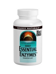 Source Naturals Enzymes Essential 500 mg