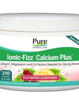 Pure Essence Calcium Plus Ionic-Fizz Raspberry Lemonade
