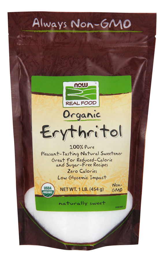 Now Foods Erythritol Now Foods